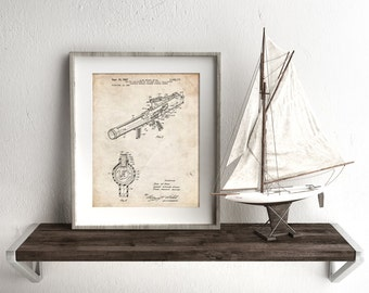 Toy Pop Gun Patent Poster, Vintage Toys, Toy Gun, Boys Room Wall Art, Play Room Decor, Boy Gift, PP0952