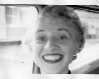 Vintage Photo..Mom Selfie 1950's, Original Photo, Old Photo Snapshot, Vernacular Photography, American Social History Photo