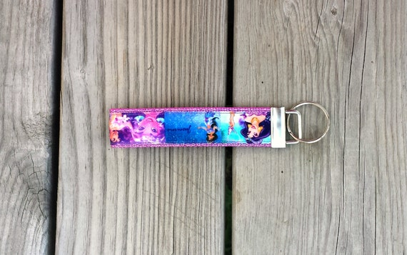 Disney Inspired Princess Jasmine Keychain, Key Fob, Accessories, Key Holder
