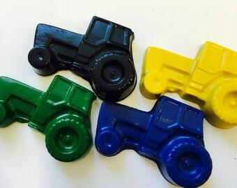 40 BULK Tractor  Crayons Party Favors - Farm - Transportation - John Deere Party