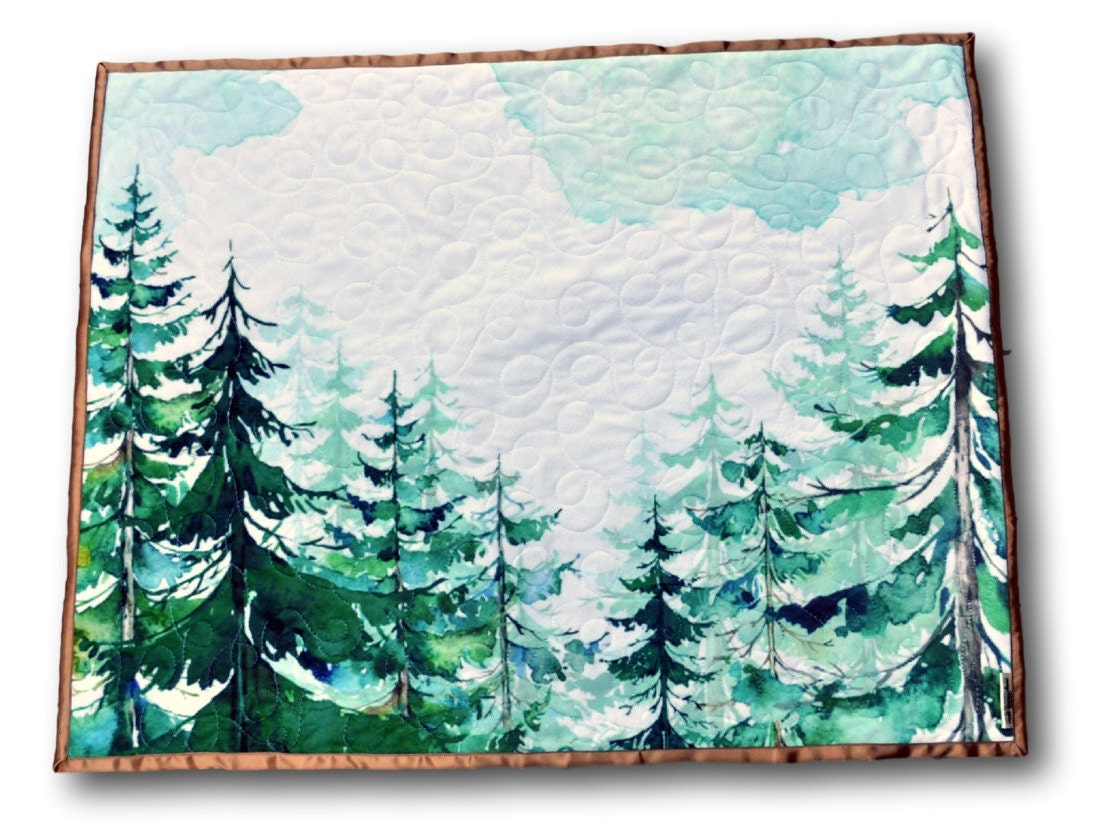 Woodland Baby Quilt Forest Baby Quilt Forest Nursery