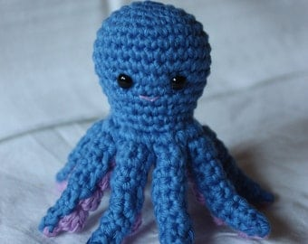 Cute little Octopus - Crochet Animal