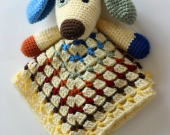 Scrappy the Dog Security Blanket