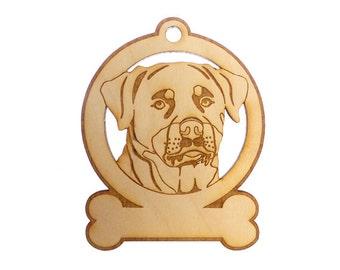 Rottweiler Ornament - Rottweiler Gift - Rottweiler Ornaments - Rottweiler Gifts - Rottweiler Memorial - Rottweiler Art - Personalized Free