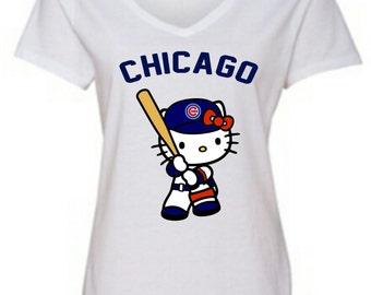 Similar Chicago Club Hello Kitty T-shirt