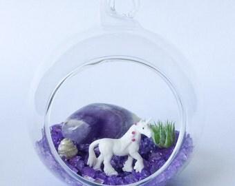 The Tiny Bubbles Series: Unicorn Terrarium Kit