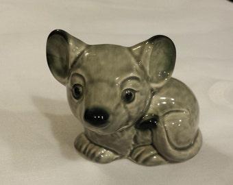 Gray Goebel Collectible Mouse Animal Figurine #35795