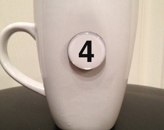 Quote | Mug | Magnet | Number '4'