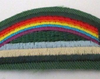 "Girl Scout ""Bridge to Brownies"" Badge circa 1993"