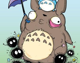 Totoro Print!!! 5x7