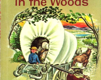 Delightful Vintage Children's Book, Benjamin in the Woods, 1962