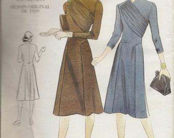 Vogue Vintage Design Dress Pattern