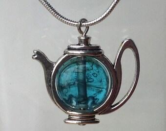 9 colors Teapot Necklace