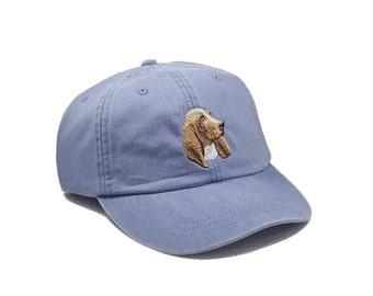 Basset Hound embroidered hat, baseball cap, dog lover gift, pet mom cap, dad hat, mom, gift for pet lover, dog agility, dog lover hat
