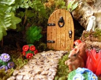 Fairy Door,Fairy Door Set, Fairy Garden Kit, Fantasy Fairy Garden Decor,Outdoor Fairy Gardens,Desktop Gardens,Pot Gardens 012