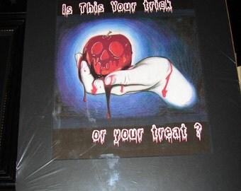 Trick or Treat? - Halloween Art Work