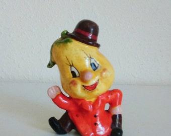Vintage Anthropomorphic Pear figurine | Made in Japan