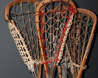 Vintage Lacrosse sticks