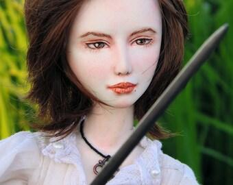 "OOAK art doll ""Berenice"" 40 cm, ooak, doll, art doll, warrior, fantasy, sword, bjd, bjd doll"