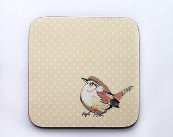 Wren bird coaster