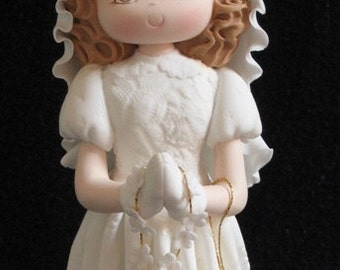 First Communion Cake Topper, Boy Baptism, First Communion Cake Topper, Girl Baptism, First Communion Girl, First Communion Baptism Decor