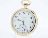 Gold Filled Hamilton Pocket Watch