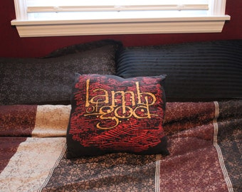 Lamb of God Throw Pillow