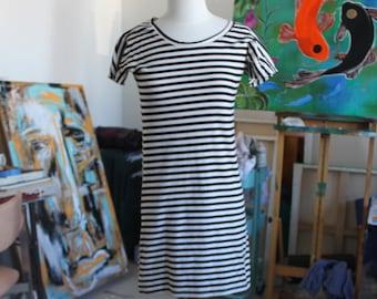 Striped Edie Dress