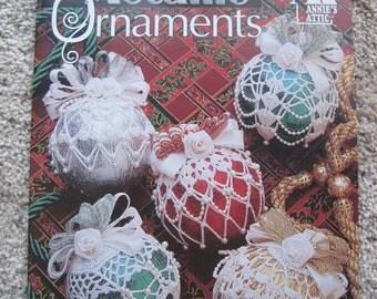 Crochet Metallic Ornaments - Annie's Attic #879603 - Vintage 1996