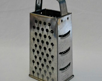 Vintage Metal Cheese Grater