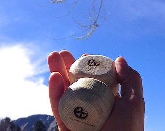Thera-Tree Massage Tool Colorado Beetle Kill Pine Wood Rolling Pin