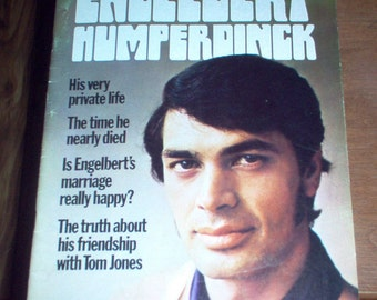 Engelbert Humperdinck Magazine 1970 Vintage Original Complete Collectible