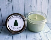 Pine Soy Candle for the Home Tree Scented Soy wax Candles Jar Candle Hand Poured
