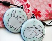 Angry Cat Phone Charm Wiper