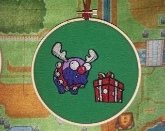 Mini-Moose Embroidery