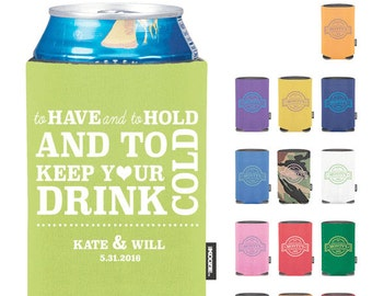 Custom To Have and To Hold Wedding KOOZIE® - Premium Quality - Free Shipping - Funny Wedding KOOZIES® (1)