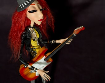 Sonja the rock doll