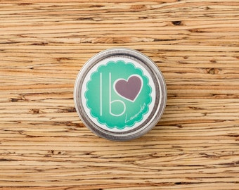 Organic Hard Lotion // Lavender