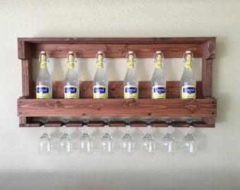 rustic wooden wine rack wine rack gift wedding gift wooden wine