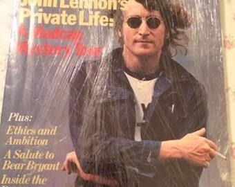 1980 Esquire Magazine John Lennon