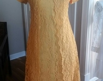Fabulous 60's Lace Formal