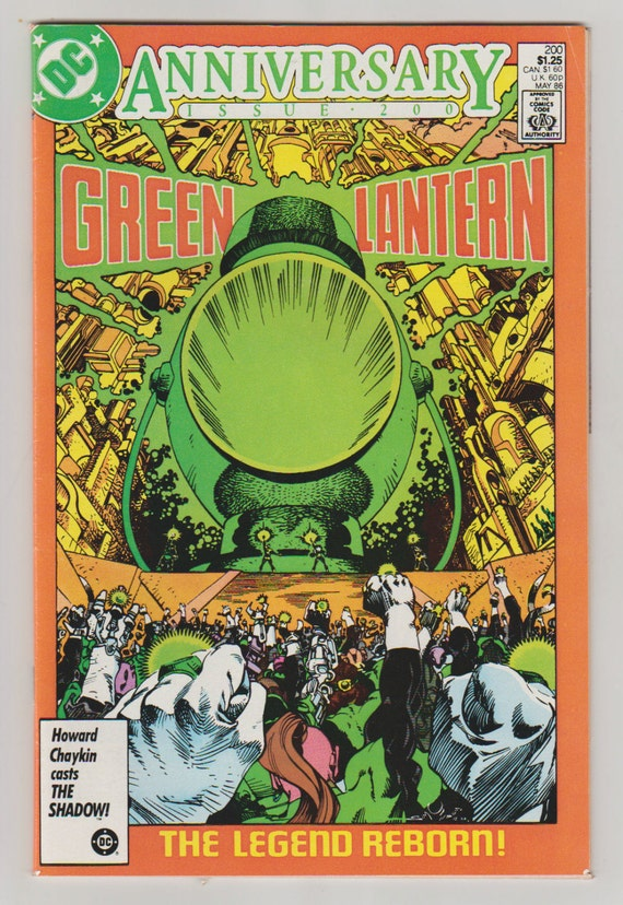 green lantern vol 2 200 comic book vf nm by rubbersuitstudios