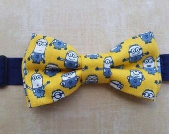 Kids Pre-Tied Bow Tie (Minions)