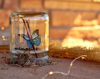 Memories | Sympathy gift | In memory of gifts | Memorial butterfly | In memory of paper butterflies | Going away gift | In loving memory