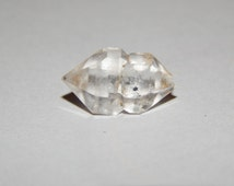 Genuine HERKIMER DIAMOND with Scepter Formation - Natural Herkimer Diamond Siamese Twins - Metaphysical Gemstone - Healing Crystals - Reiki
