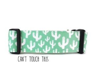 Dog Collar, Boy Dog Collar, Girl Dog Collar, Cactus Dog Collar, Southwest Dog Collar, Small, Large (Upgrade to Metal Buckle or Martingale)