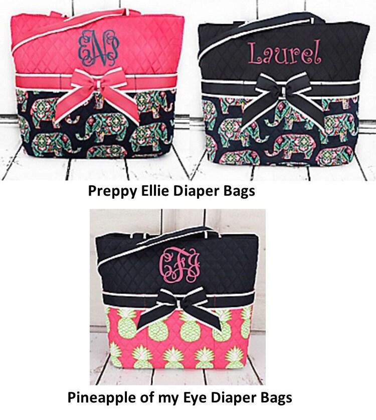 diaper bags monogrammed. Black Bedroom Furniture Sets. Home Design Ideas