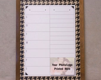 large weekly whiteboard calendar menu planner board framed dry erase wall calendar organizer custom family command center white board