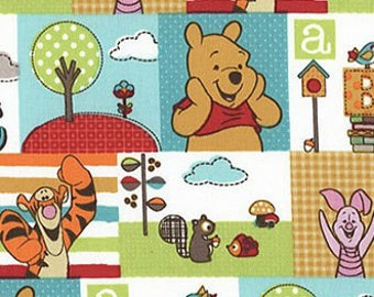 Winnie the Pooh, Piglet and Tigger Fabric