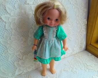 "Fisher Price 1970 My Friend Mandy 16"" doll #20141"